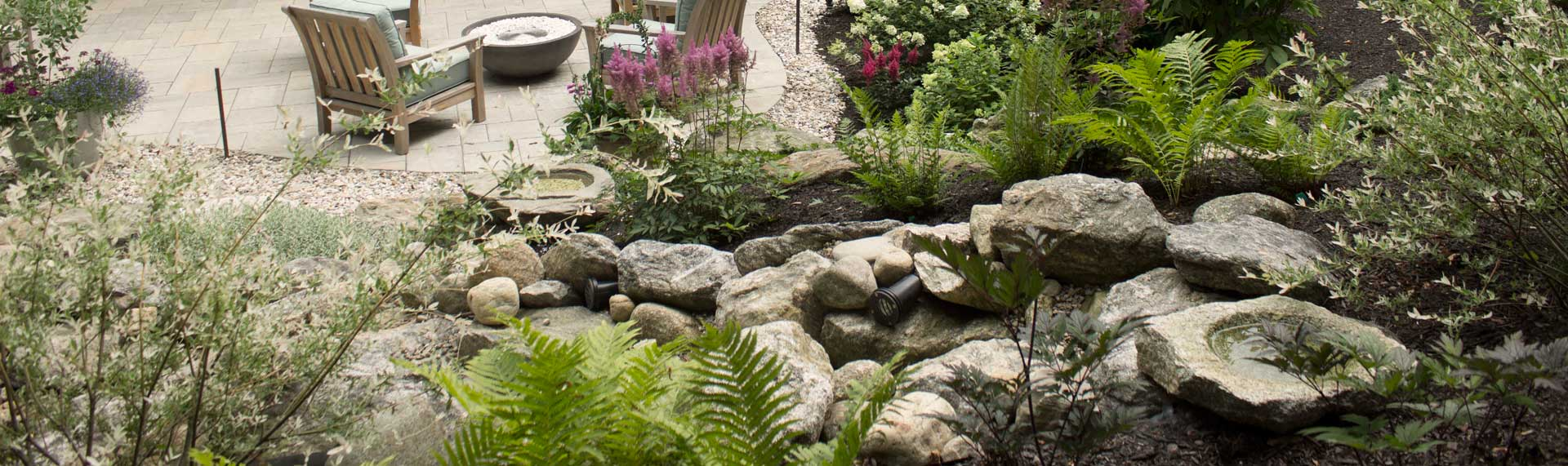 Landscape designer kennebunkport maine landscaping for Creating a landscape