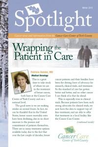 Cancer Care Center Spotlight article on CL Design and Landscape's Healing Garden
