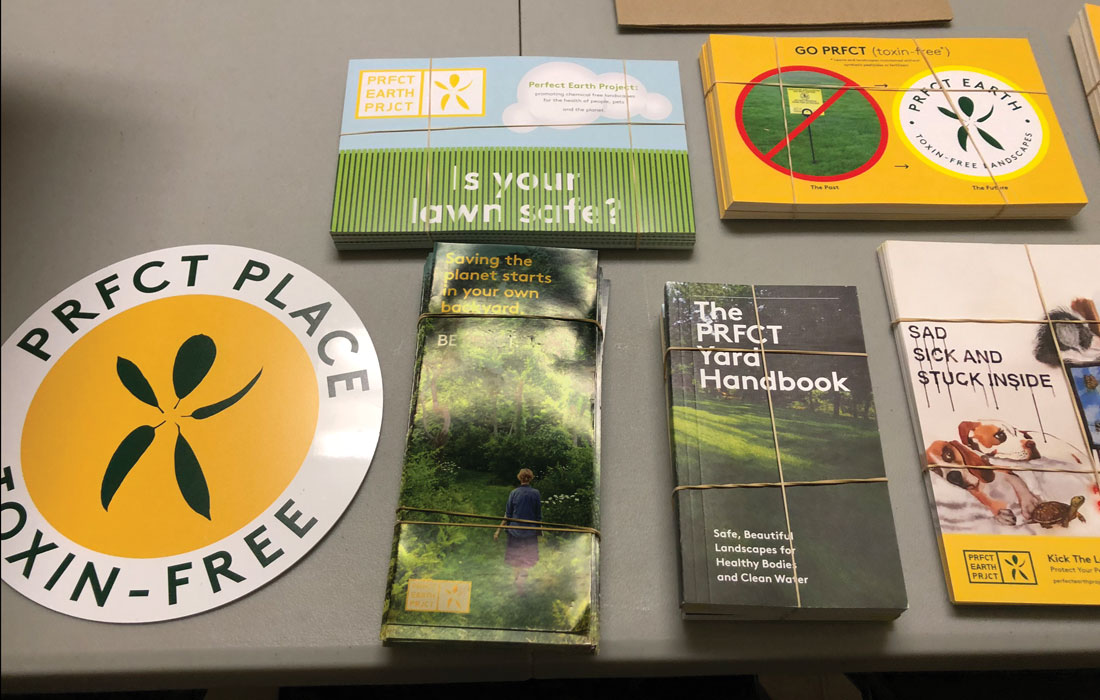 Brochures and materials for environmental responsibility